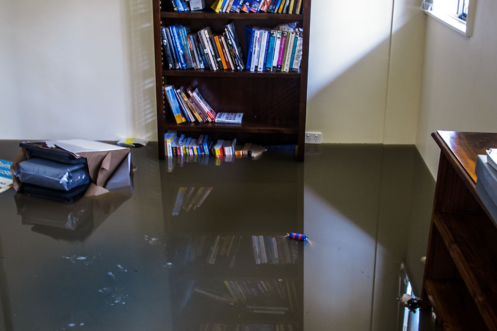 flood recover water damage restoration
